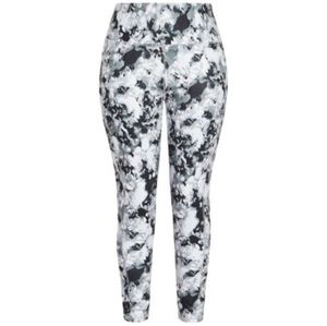 🆕 Avenue Floral White|Black Leggings - Size 14-16